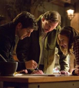 David Giuntoli, Silas Weir Mitchell and Bree Turner in NBC's Grimm.