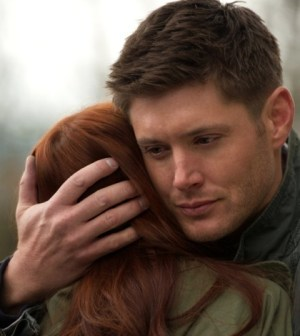 Jensen Ackles and Felicia Day in Supernatural. Image © CW Network