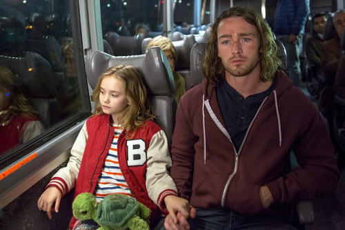 Pictured (L-R): Johnny Sequoyah as Bo, Jake McLaughlin as Tate -- Photo by: Eric Liebowitz/NBC -- © NBC Universal, Inc.