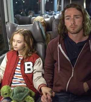 "BELIEVE -- ""Pilot"" -- Pictured: (l-r) Johnny Sequoyah as Bo, Jake McLaughlin as Tate"