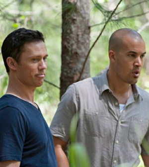 Pictured: Jeffrey Donovan as Michael Westen, Coby Bell as Jesse Porter -- (Photo by: Glenn Watson/USA Network)