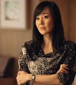 Yunjin Kim as Karen —  Photo: Adam Larkey/ABC
