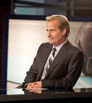Jeff Daniels in The Newsroom. Image © HBO