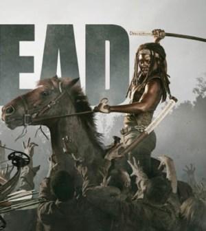 Danai Gurira as Michonne in AMC's The Walking Dead