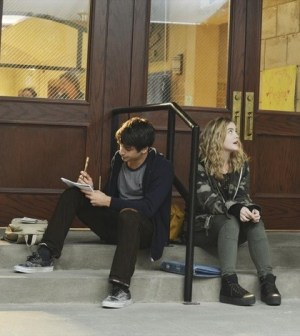 Opposite sides on a love triangle: (ABC FAMILY/Eric McCandless) Ashton Moio and Maddie Hasson.
