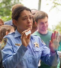 Bad Fortune Cookie Prediction? Pictured: Natalie Martinez as Deputy Linda. Photo: Kent Smith/©2013 CBS Broadcasting Inc