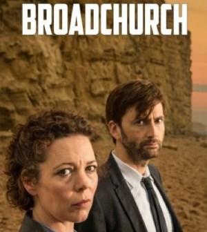 David Tennant and Olivia Colman in the UK version of Broadchurch. Image © UTV