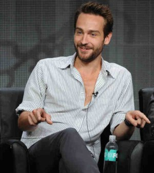2013 FOX SUMMER TCA: SLEEPY HOLLOW Cast Member Tom Mison during SLEEPY HOLLOW panel session at the FOX 2013 SUMMER TCA, Thursday August 1 at the Beverly Hilton in Beverly Hills, CA.   CR: Frank Micelotta/FOX