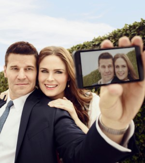 David Boreanaz and Emily Deschanel. Image Co.  Cr:  Jeff Lipsky/FOX