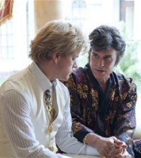 Matt Damon and Michael Douglas in Behind the Candelabra.
