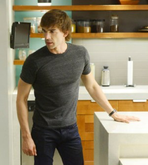 Christopher Gorham as Auggie. (Photo by: Steve Wilkie/USA Network)