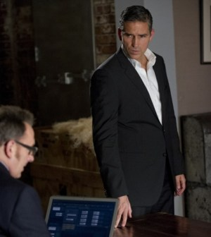 Pictured: Michael Emerson (l) and Jim Caviezel (r) in Person of Interest. Image © CBS