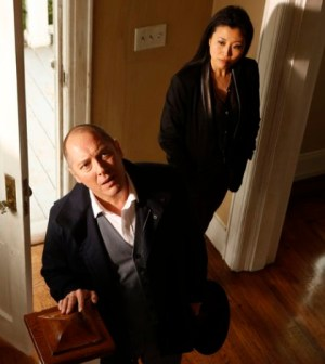 "Pictured: (l-r) James Spader as Raymond ""Red"" Reddington, Deborah S. Craig as Luli -- (Photo by: Craig Blankenhorn/NBC)"