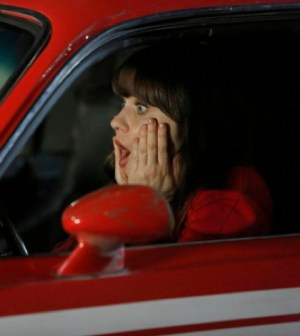 Zooey Deschanel as Jess. Co.  Cr: Greg Gayne/FOX