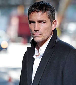 Pictured: Jim Caviezel Photo: Giovanni Rufino/CBS ©2013 CBS Broadcasting Inc. All Rights Reserved