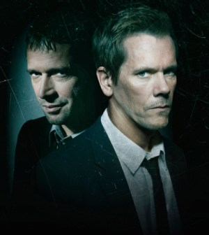 Pictured: James Purefoy (L) and Kevin Bacon (R) in The Following. CR: Michael Lavine/FOX