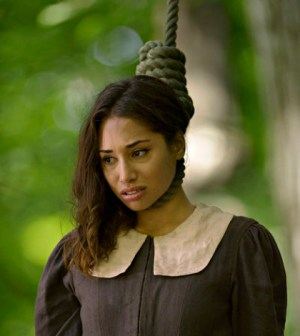 Meaghan Rath as Sally. (Photo by: Philippe Bosse/Syfy)