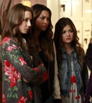 (ABC FAMILY/Ron Tom) TROIAN BELLISARIO, SHAY MITCHELL, LUCY HALE.