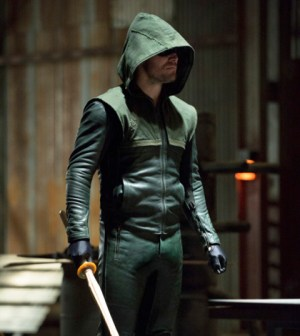 Pictured: Stephen Amell as The Arrow -- Photo: Cate Cameron/The CW