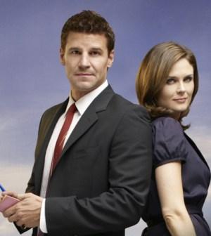 Bones stars David Boreanaz and Emily Deschanel. Image © FOX