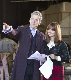 (PETER CAPALDI), Clara (JENNA COLEMAN) - (C) BBC - Photographer: Adrian Rogers