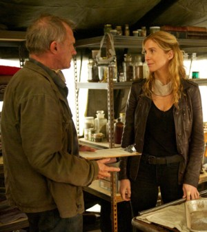 Pictured: (l-r) Stephen Collins as Dr. Gene Porter, Elizabeth Mitchell as Rachel Matheson. (Photo by: Felicia Graham/NBC)