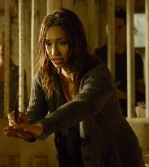Pictured: Meaghan Rath -- Photo by:  Philippe Bosse/Syfy
