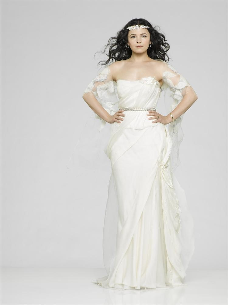 Enormous new collection of cast promotional images from for Snow white wedding dress once upon a time
