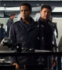 L-R: Dorian (Michael Ealy), Det. John Kennex (Karl Urban). Co. Cr: Liane Hentscher / FOX