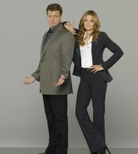 "ABC's ""Castle"" stars Nathan Fillion as Richard Castle and Stana Katic as NYPD Detective Kate Beckett. (ABC/Bob D'Amico)"