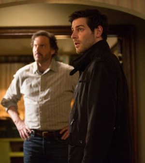 Pictured: (l-r) Silas Weir Mitchell as Monroe, Daivd Giuntoli as Nick Burkhardt -- (Photo by: Scott Green/NBC)