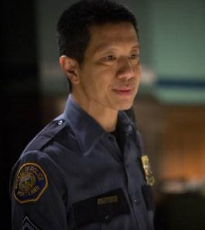 Pictured: Reggie Lee as Sgt. Wu -- (Photo by: Scott Green/NBC)
