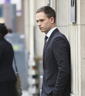 Pictured: Patrick J. Adams as Michael Ross -- Photo by: Shane Mahood/USA Network