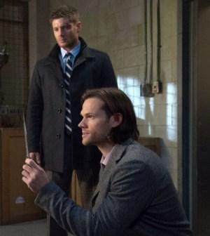Jensen Ackles as Dean, and Jared Padalecki as Sam -- Credit: Jack Rowand/The CW