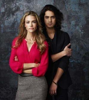 """""""Twisted"""" stars Denise Richards as Karen and Avan Jogia as Danny. (ABC FAMILY/Andrew Eccles)"""