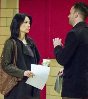 Lucy Liu (l) and Jonny Lee Miller (r). Image © CBS