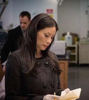 Lucy Liu as Joan Watson.  Photo: Jeff Neumann/CBS