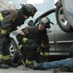 Pictured: (l-r) Jesse Spencer as Matthew Casey, Taylor Kinney as Kelly Severide -- (Photo by: Elizabeth Morris/NBC)