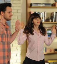 Nick (Jake Johnson, L) and Jess (Zooey Deschanel, R). Co. Cr: Ray Mickshaw/FOX