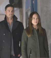 Pictured (L-R): Kristin Kreuk as Catherine and Jay Ryan as Vincent - Photo: Ben Mark Holzberg/The CW