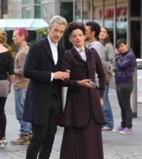 Peter Capaldi and Michelle Gomez. Image © BBC.