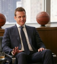 Pictured: Gabriel Macht as Harvey Specter -- (Photo by: Ian Watson/USA Network)