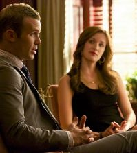 Pictured L-R: Cam Gigandet as Roy Rayder and Anna Wood as Jamie Sawyer Photo: Jackson Lee Davis/ CBS