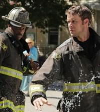 Pictured: (l-r) Eamonn Walker as Wallace Boden, Jesse Spencer as Matthew Casey -- (Photo by: Elizabeth Morris/NBC)