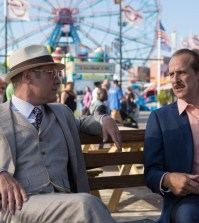 Red and Berlin | Pictured: (l-r) James Spader as Red Reddington, Peter Stormare as Berlin -- (Photo by: Eric Liebowitz/NBC)