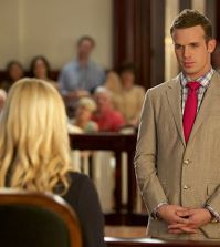 Pictured L-R: Georgina Haig as Lee Anne Marcus and Cam Gigandet as Roy Rayder Photo: Jackson Lee Davis/ CBS