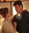 (ABC/Richard Cartwright) STANA KATIC, NATHAN FILLION