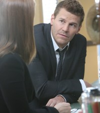 Booth (David Boreanaz) has concerns about their current case. Co.  Cr:  Patrick McElhenney/FOX