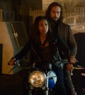 Abbie (Nicole Beharie L) and Ichabod (Tom Mison, R) .  Co. CR: Brownie Harris/FOX