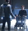Pictured (L-R): Michael Reventar as Farooq and Tom Cavanagh as Dr. Harrison Wells -- Photo: Diyah Pera/The CW